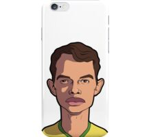 thiago silva caricature iPhone Case/Skin