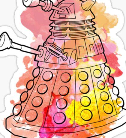 Dalek Watercolour Sticker
