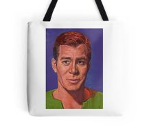 William Shatner is Captain James T. Kirk Tote Bag
