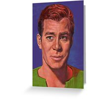 William Shatner is Captain James T. Kirk Greeting Card