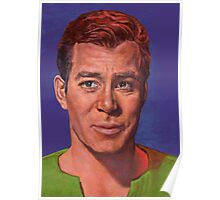 William Shatner is Captain James T. Kirk Poster