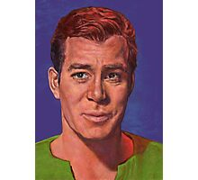 William Shatner is Captain James T. Kirk Photographic Print