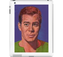 William Shatner is Captain James T. Kirk iPad Case/Skin