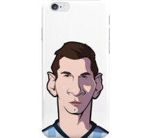 Messi Caricature iPhone Case/Skin