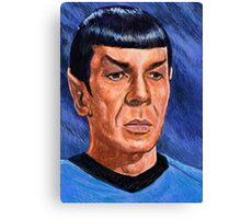 Leonard Nimoy is Mr. Spock Canvas Print