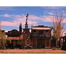 Old Southwestern Ghost Town Photographic Print