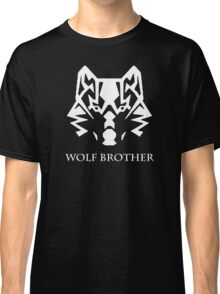 Wolf Brother (White) Classic T-Shirt