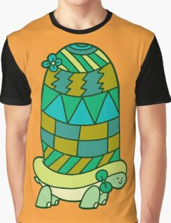 Long Tall Turtle Graphic T-Shirt