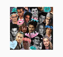 Johnny Depp Collage Unisex T-Shirt