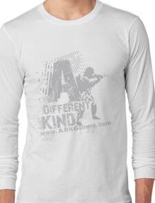 =ADK= Grey Grunge Soldier Long Sleeve T-Shirt