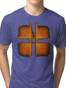 Holy Dominion red Tri-blend T-Shirt