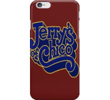 Jerry's of Chico 1970s Style Logo iPhone Case/Skin