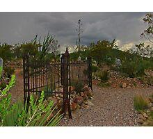 Tombstone Cemetery Photographic Print