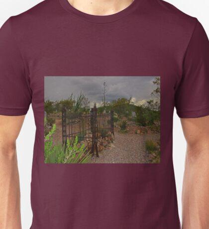 Tombstone Cemetery Unisex T-Shirt