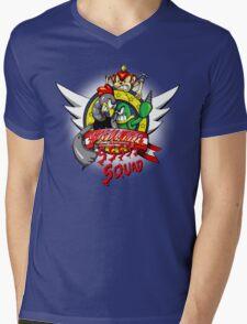 Hedgehog Hunters Mens V-Neck T-Shirt