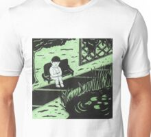 Solitude in Green Unisex T-Shirt