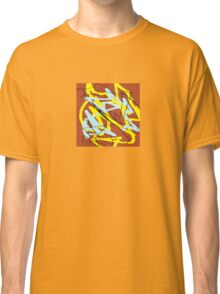 brown yellow blue Classic T-Shirt