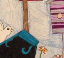 Bird House Special Sticker