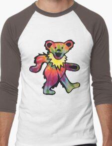 Grateful Dead Bear Men's Baseball ¾ T-Shirt