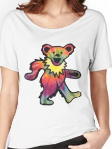 Grateful Dead Bear Women's Relaxed Fit T-Shirt