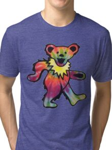 Grateful Dead Bear Tri-blend T-Shirt