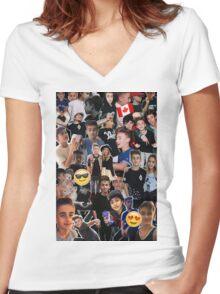 Johnny Orlando Women's Fitted V-Neck T-Shirt