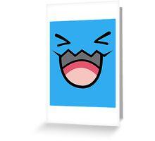 POKEMON - WOBBUFFET Greeting Card
