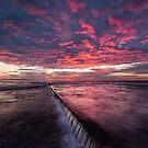 Cronulla Sunrise Fall by David Haworth