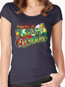 Plumber Paradise Women's Fitted Scoop T-Shirt