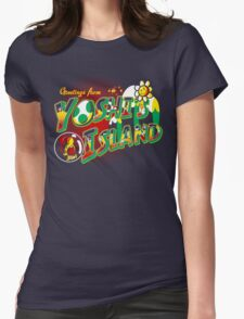 Plumber Paradise Womens Fitted T-Shirt