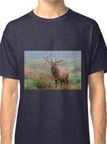Male Roosevelt Elk in Rut Classic T-Shirt