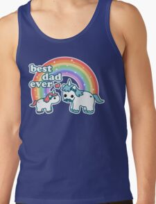 Best Unicorn Dad Tank Top