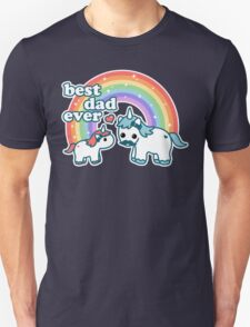Best Unicorn Dad Unisex T-Shirt