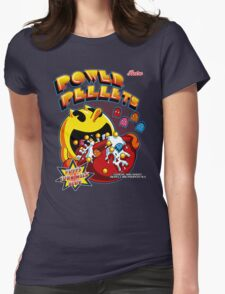 Power Pellets Womens Fitted T-Shirt