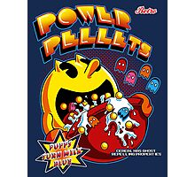 Power Pellets Photographic Print