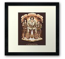 An Inconceivable Story Framed Print