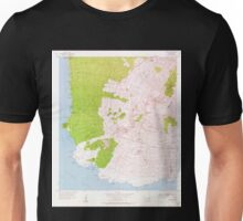 USGS TOPO Map Hawaii HI Makena 349562 1954 24000 Unisex T-Shirt