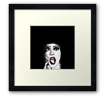 Frank n Furter - The Rocky Horror Show Framed Print