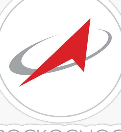 Roscosmos State Corporation Sticker