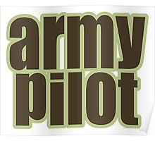 Army Pilot Poster