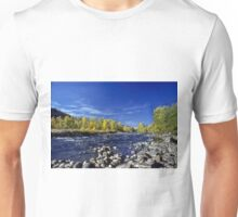 Fall Colors Along the Naches River Unisex T-Shirt