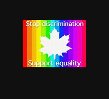 """""""Stop discrimination - support equality""""  Unisex T-Shirt"""