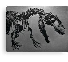 T Rex Skeleton Canvas Print