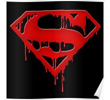 superman - bloody Poster