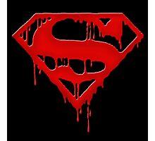 superman - bloody Photographic Print