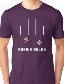 Aussie Rules Pixel Unisex T-Shirt