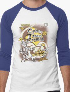 Cyber Toast Crunch Men's Baseball ¾ T-Shirt