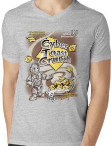 Cyber Toast Crunch Mens V-Neck T-Shirt