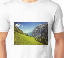 Lauterbrunnen Valley in Bloom Unisex T-Shirt