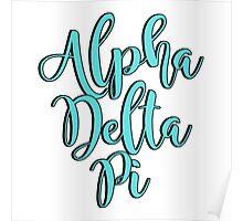 Alpha Delta Pi Poster